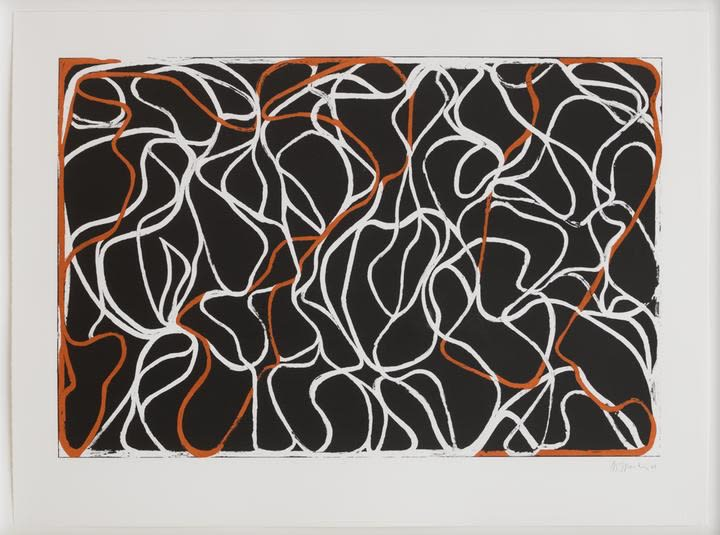 Brice Marden, Richard's Muse, 2001