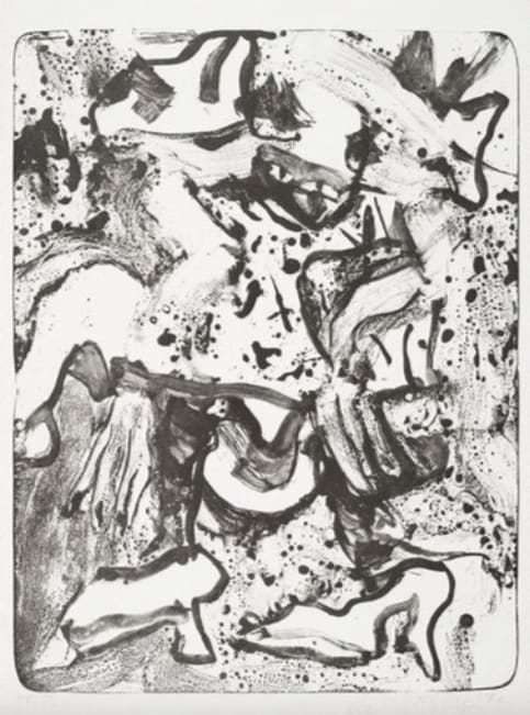 Willem de Kooning, Minnie Mouse, 1971