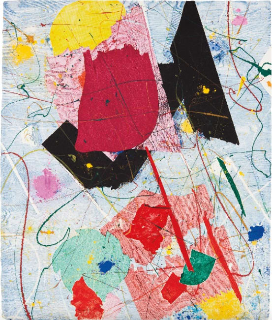 Sam Francis, Untitled, 1984
