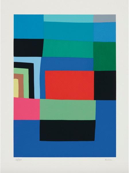 Alberto Burri, Untitled (Calvesi 50), 1973-1976