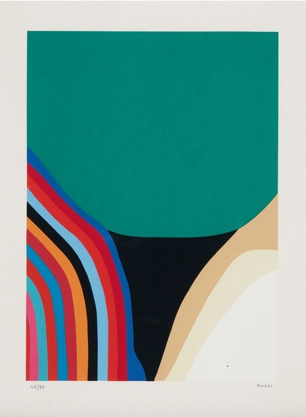 Alberto Burri, Untitled (Calvesi 46), 1973-1976