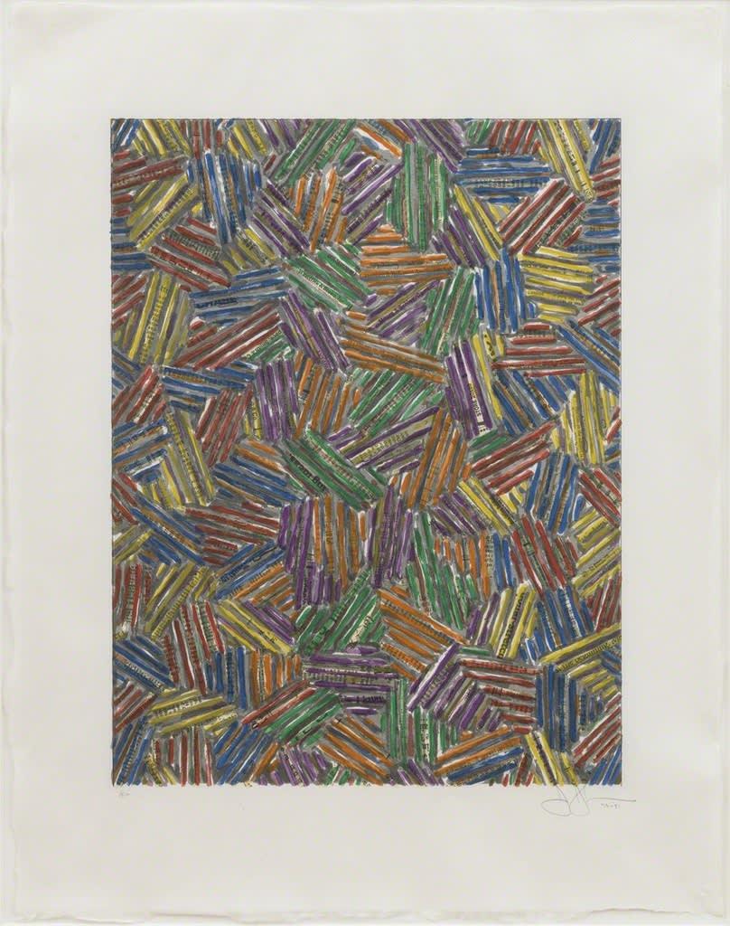 Jasper Johns, Cicada II, 1981
