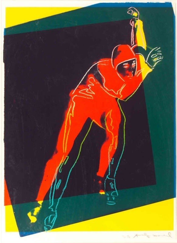 Andy Warhol, Speed Skater, 1983