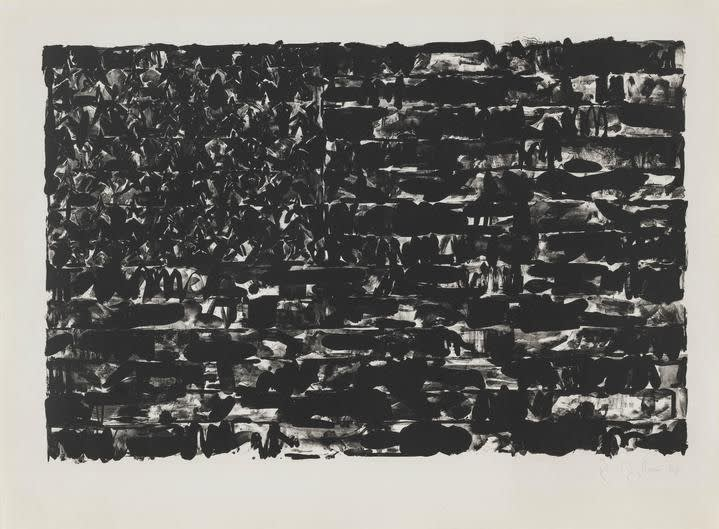 Jasper Johns, Flag I, 1960