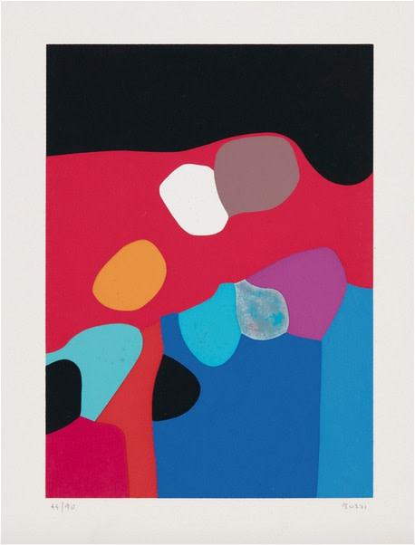 Alberto Burri, Untitled (Calvesi 48), 1973-1976