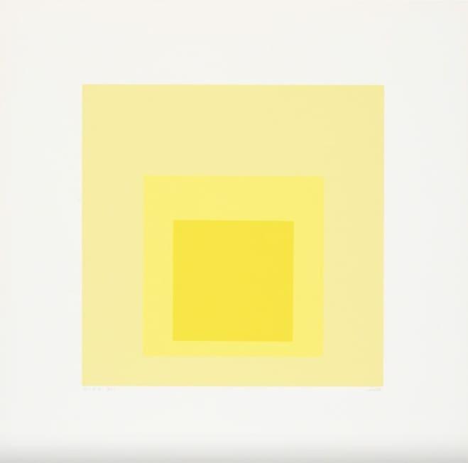 Josef Albers, I-S d, 1969