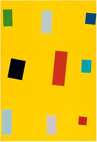 Imi Knoebel, Gelbe Fahne, 1999