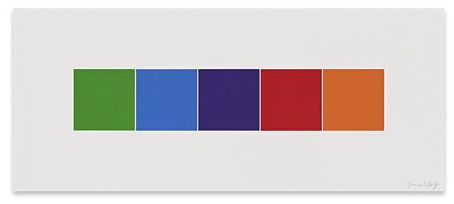 Ellsworth Kelly, Color Squares 4, 2012