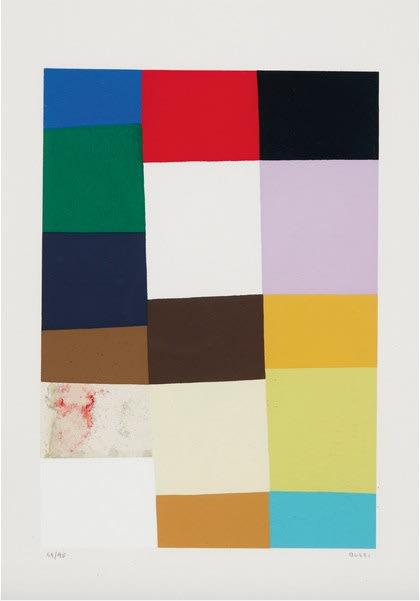 Alberto Burri, Untitled (Calvesi 47), 1973-1976
