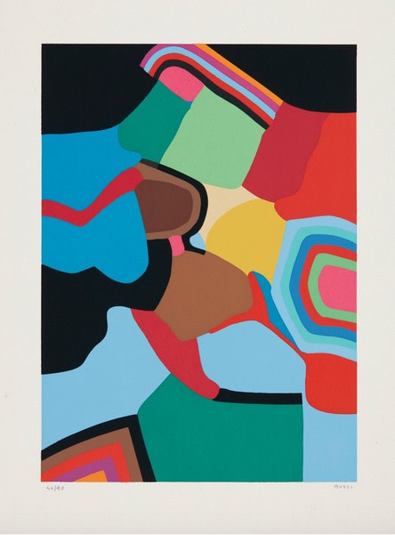 Alberto Burri, Untitled (Calvesi 49), 1973-1976