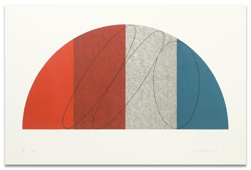 Robert Mangold, Semi-Circle II, 1995