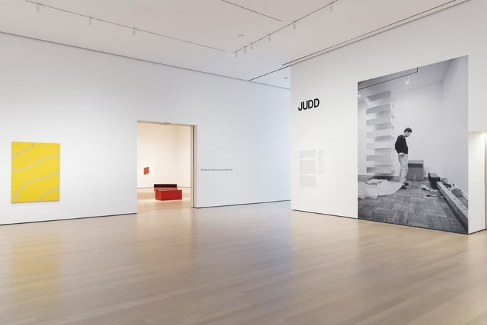 Exhibition: Donald Judd at MoMA