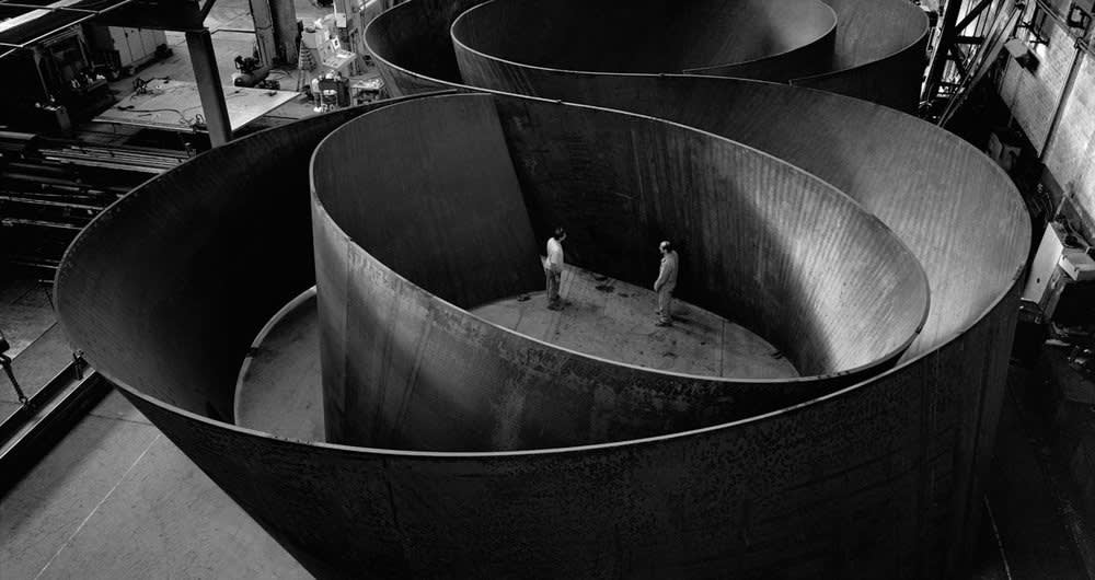 Richard Serra | NJ-2, Rounds: Equal Weight, Unequal Measure, Rotate