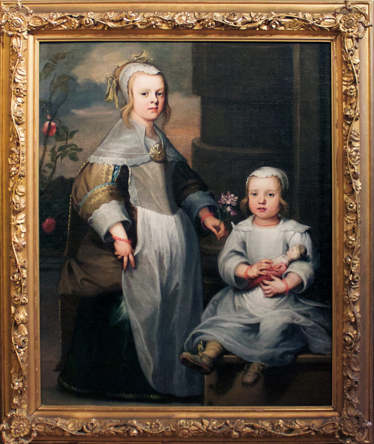 Attributed to Nicolaes van Helt, called Stockade (1614 – 1669) A pair of unknown Dutch siblings, c.1650 Oil on unlined canvas 46 ½ x 37 in. (118 x 94 cm.)