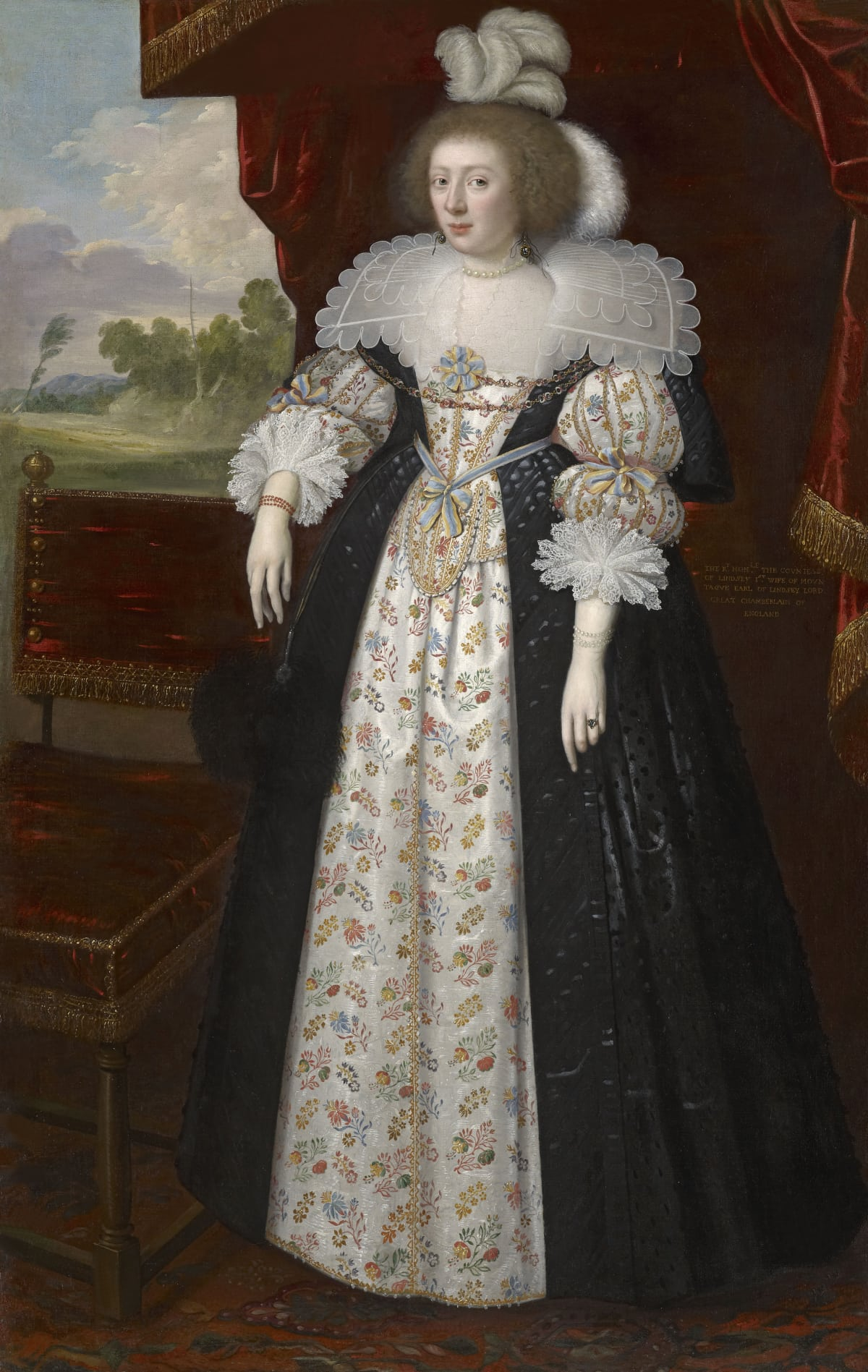 George Geldorp (c.1590 - 1665) Martha Bertie (née Cockayne), Countess of Lindsey (1605 – 1641), circa 1627 Oil on canvas 79 ¼ x 50 ½ in. (201.3 x 128 cm.)