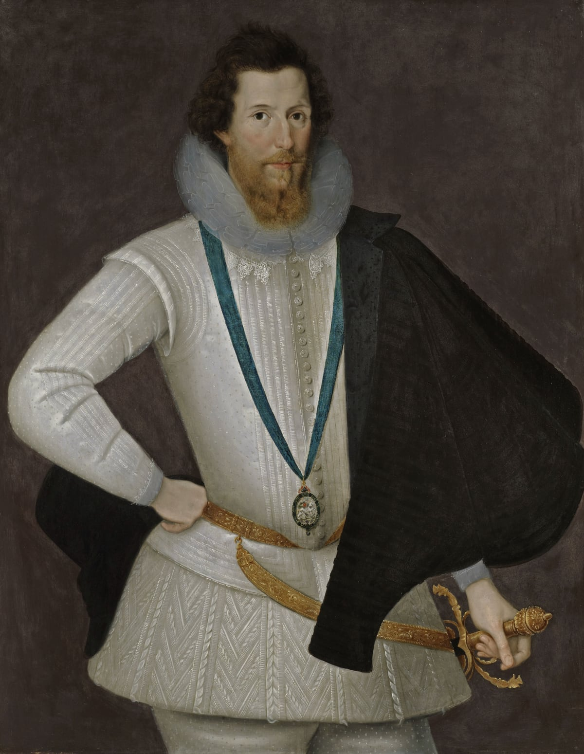 Marcus Gheeraerts the Younger (1561 – 1635) Robert Devereux, 2nd Earl of Essex (1565 – 1601), circa 1596 - 1598 Oil on panel 44 ¾ x 35 in. (113.7 x 88.9 cm.)