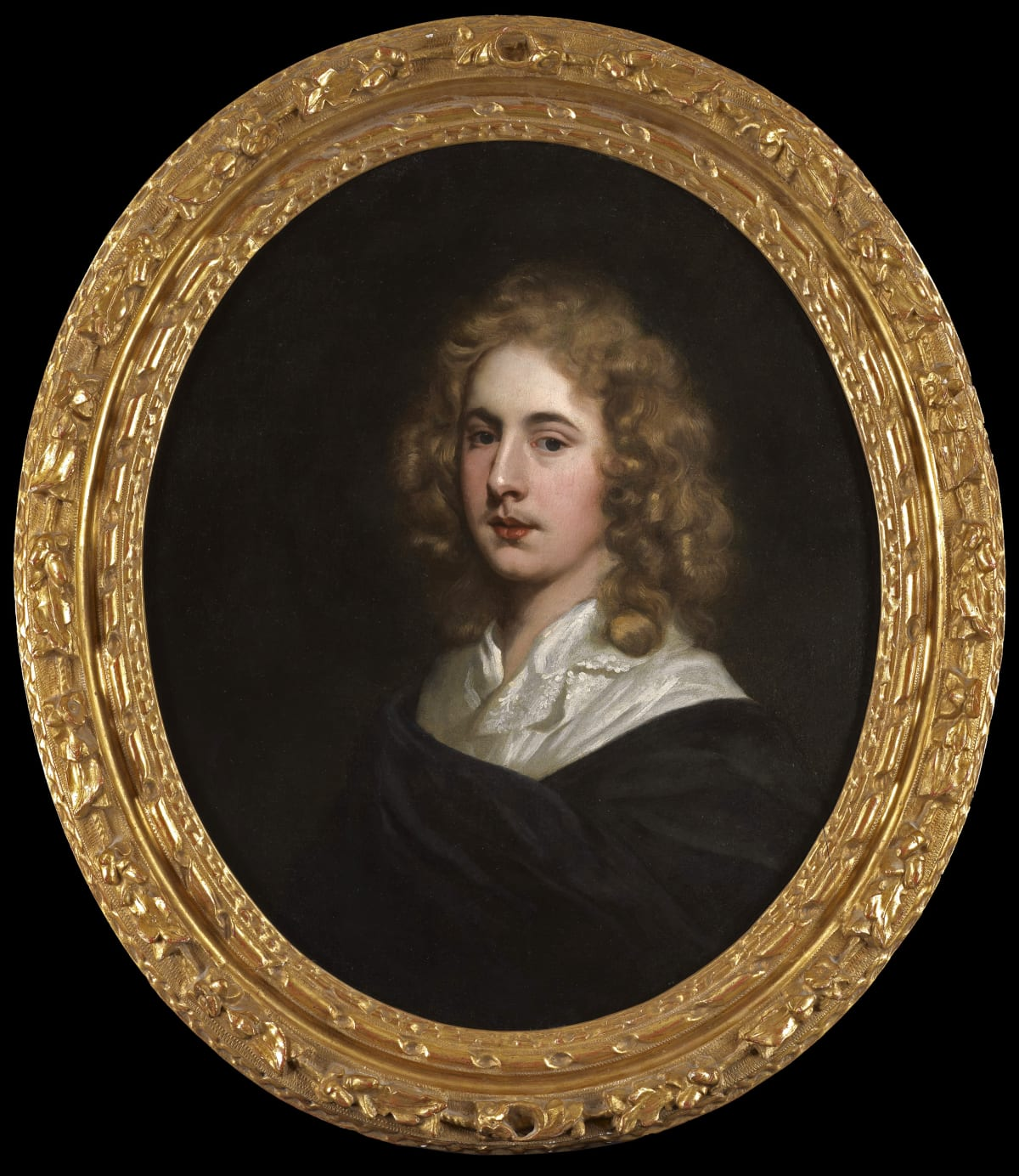 Studio of Sir Peter Lely (1618 - 1680) An Unknown Young Man, circa 1660s Oil on canvas 30 x 25 in. (76.2 x 63.5 cm.)