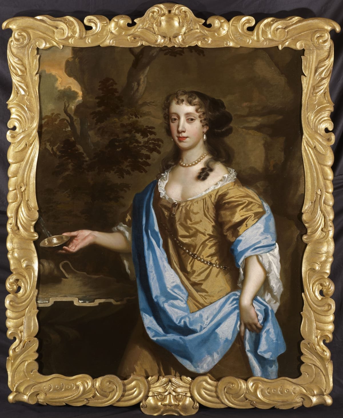 Sir Peter Lely (1618 – 1680) An Unknown Noblewoman, circa 1660 - 1665 Oil on canvas 50 x 40 in. (127 x 101.6 cm.)