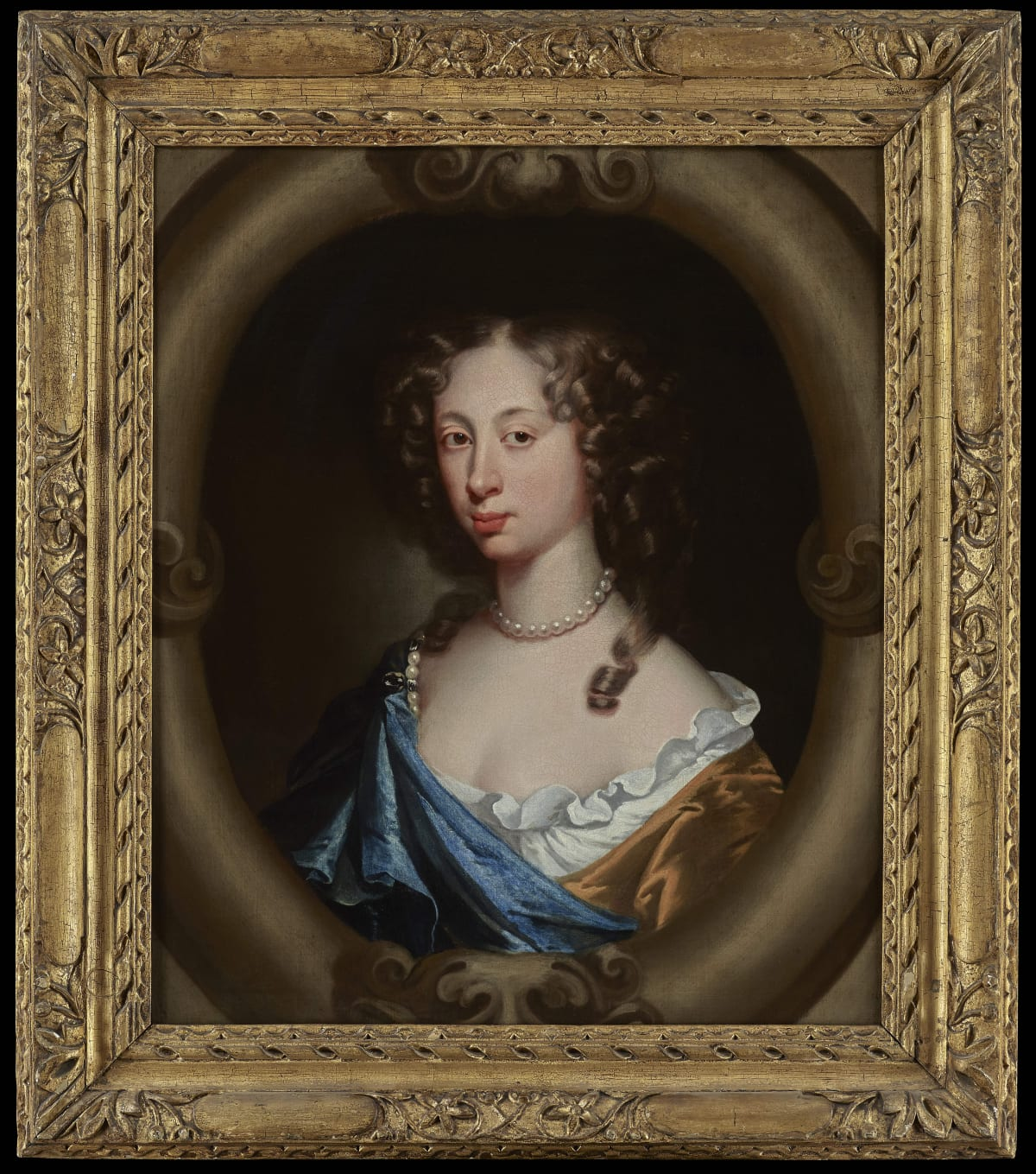 Attributed to Martinus van Grevenbroek (1646 – after 1670) An Unknown Lady of the Dalison family, c.1670s Oil on canvas 28 x 23 in. (72 x 60 cm.)