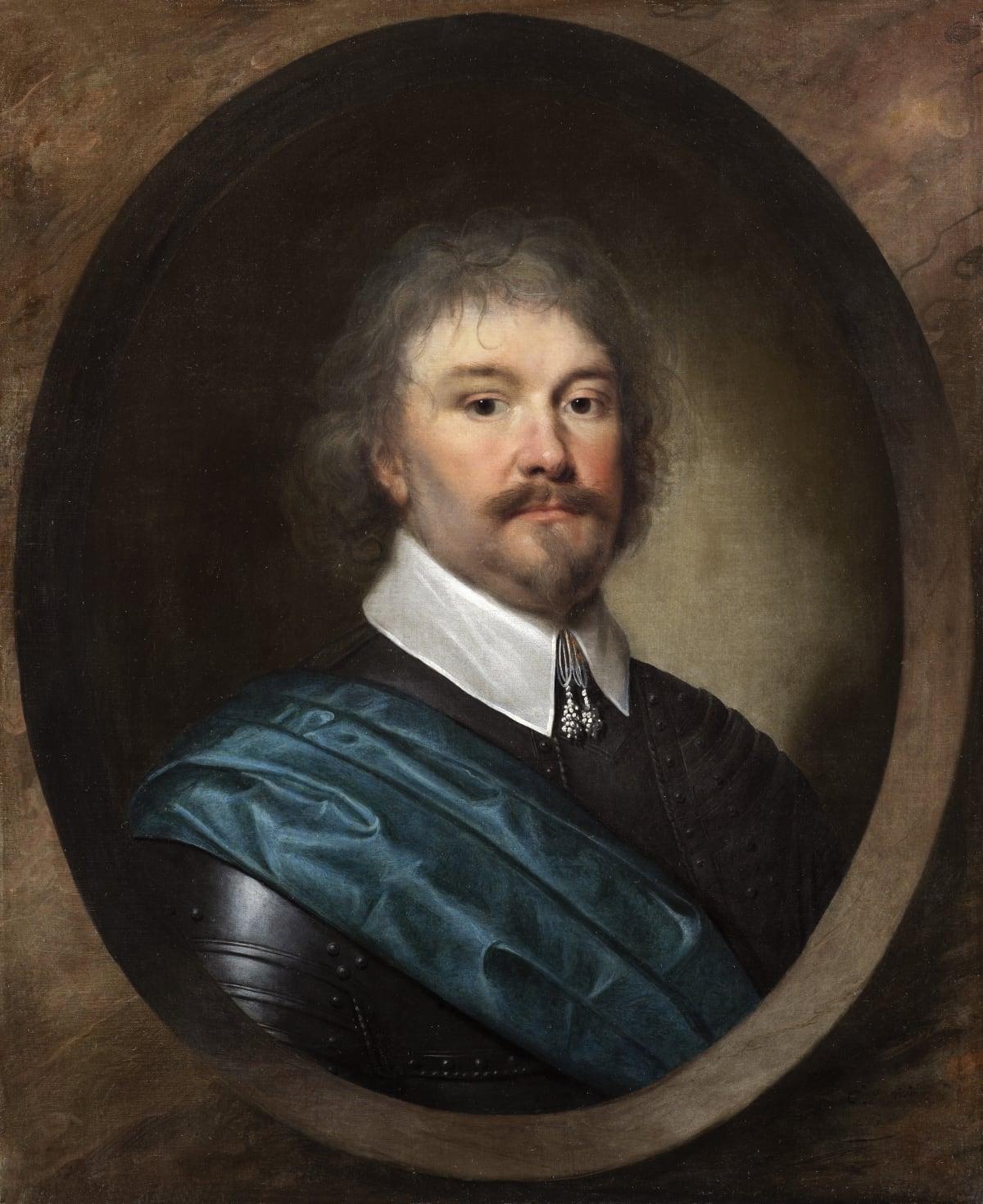 Cornelius Johnson (1593 – 1661) Colonel Robert Hammond (1587 – 1650), 1636 Oil on canvas 28 1/8 x 24 ¾ in. (76.5 x 62.9 cm.)