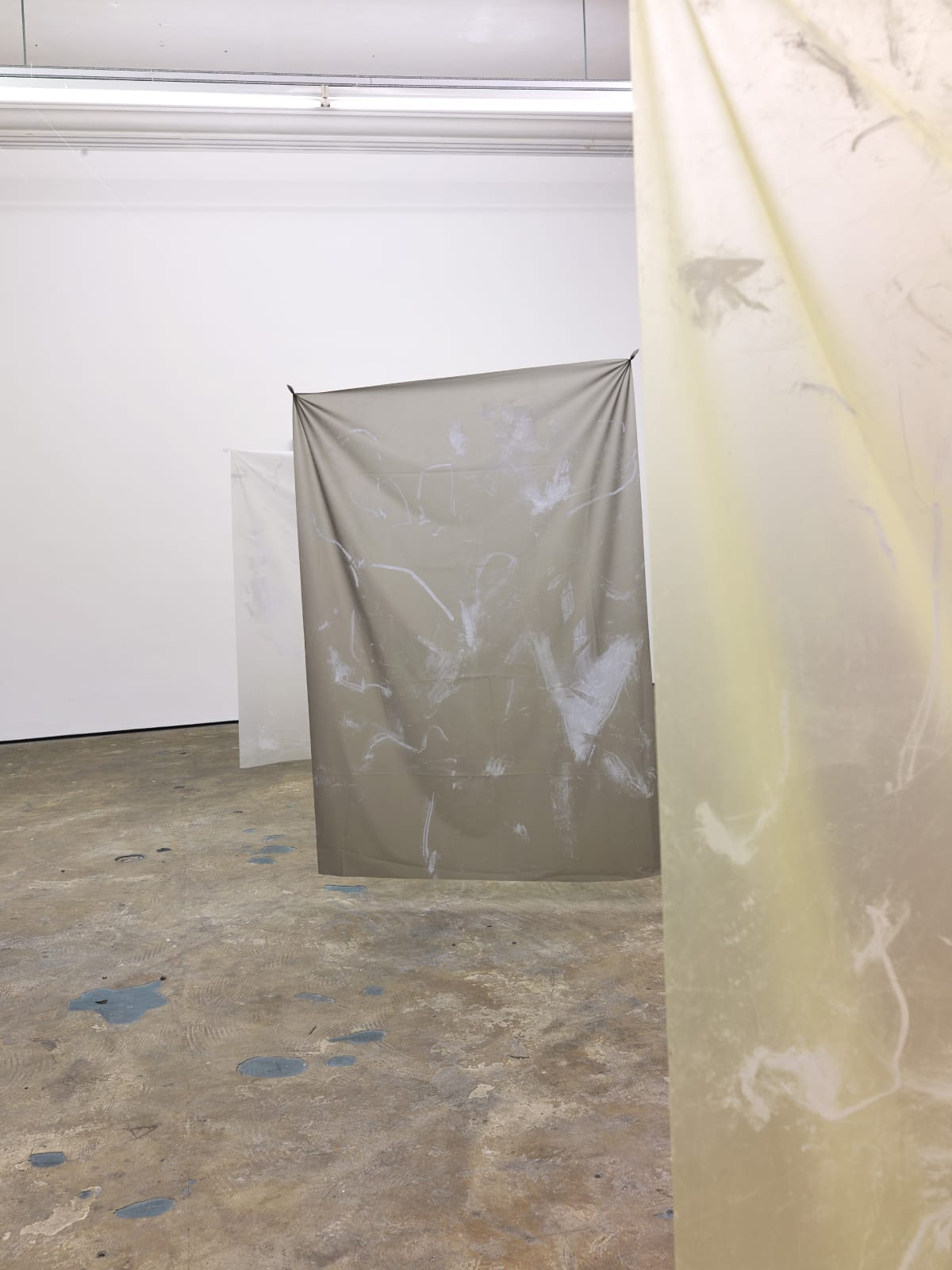 3-Phase: We Can't Float Here Nicola Singh Installation View at Workplace Gateshead Photo: John Mckenzie