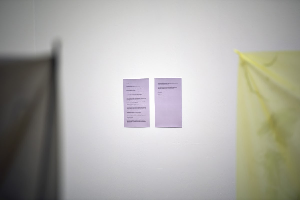3-Phase: We Can't Float Here 27 April - 9 June 2018 Installation View at Workplace Gateshead Photo: John Mckenzie