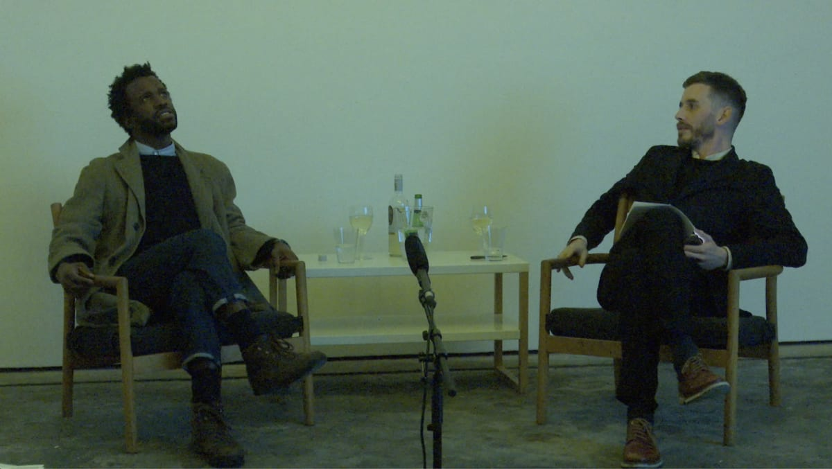 In Conversation: Simeon Barclay and Adam Carr