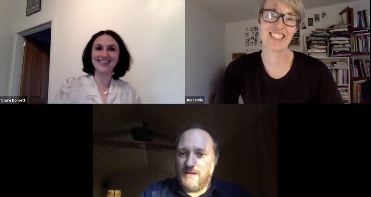 In Conversation: Claire Dorsett and Jes Fernie