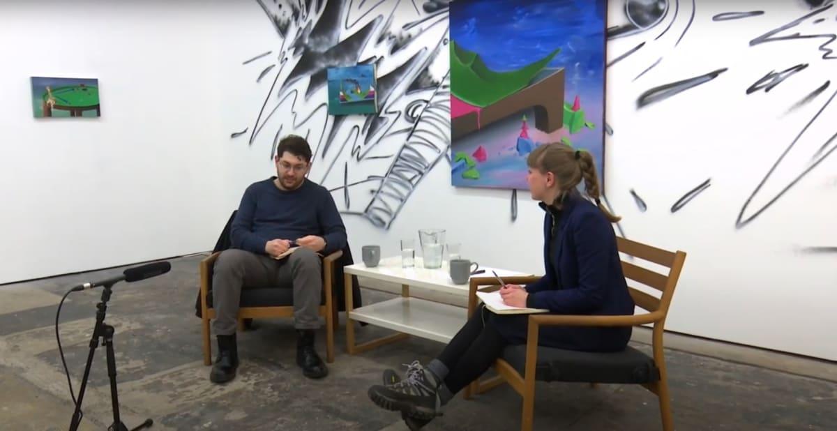 Parham Ghalamdar in conversation with Jenny Eden