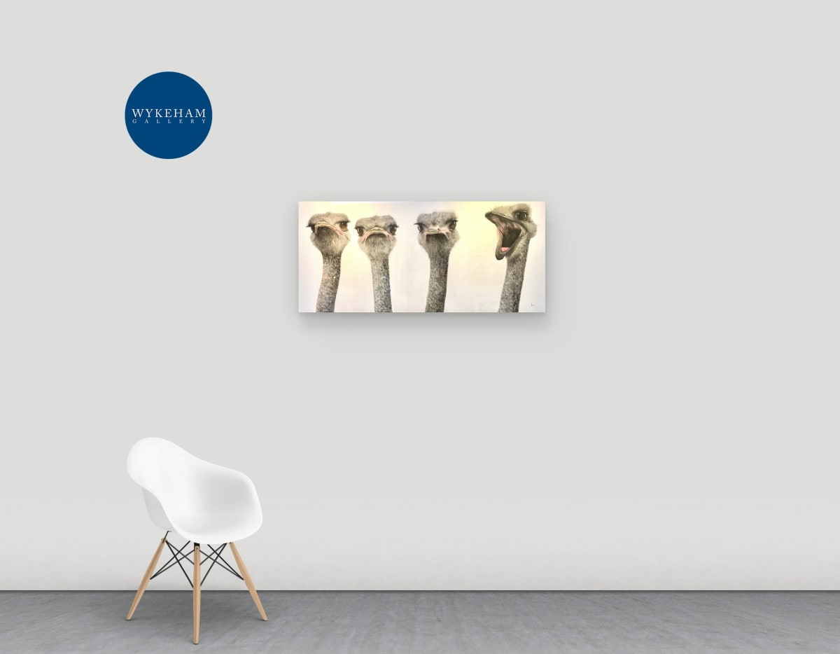 Online Three Man Art Gallery Opening - 17th April