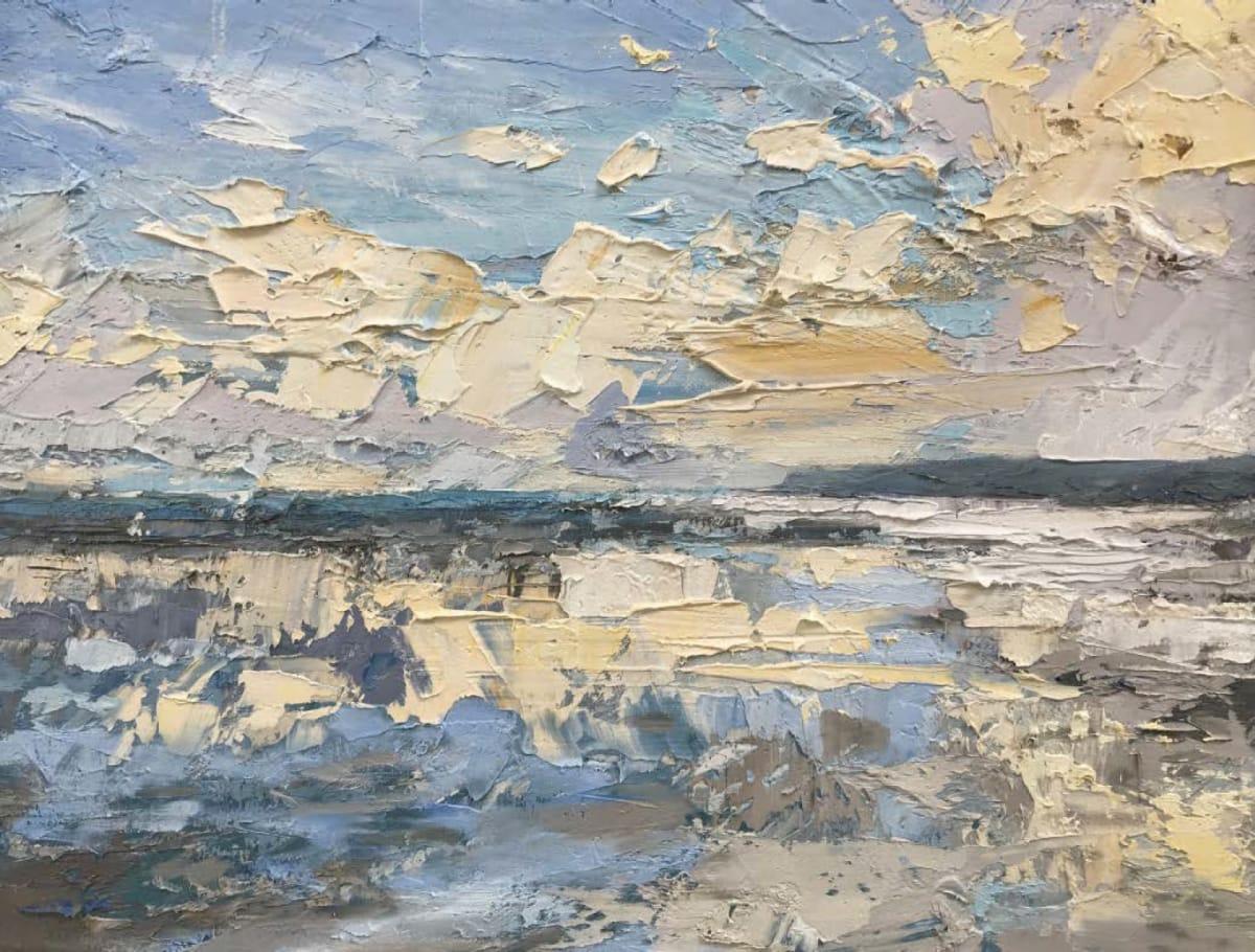 Pale Blue Silt · oil on canvas · 36 x 46 cm