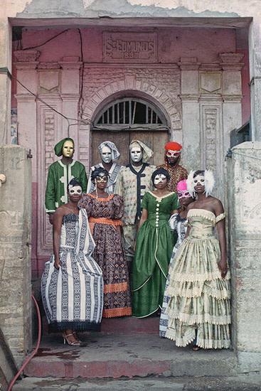 Godfried Donkor, Jamestown Masquerade VII, 2006