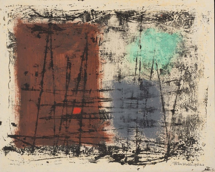 "<span class=""artist""><strong>John Wells</strong></span>, <span class=""title"">Untitled, 1962</span>"