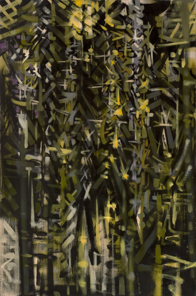 "<span class=""artist""><strong>Bryan Wynter</strong></span>, <span class=""title""><em>Forest Frontier</em>, 1956</span>"