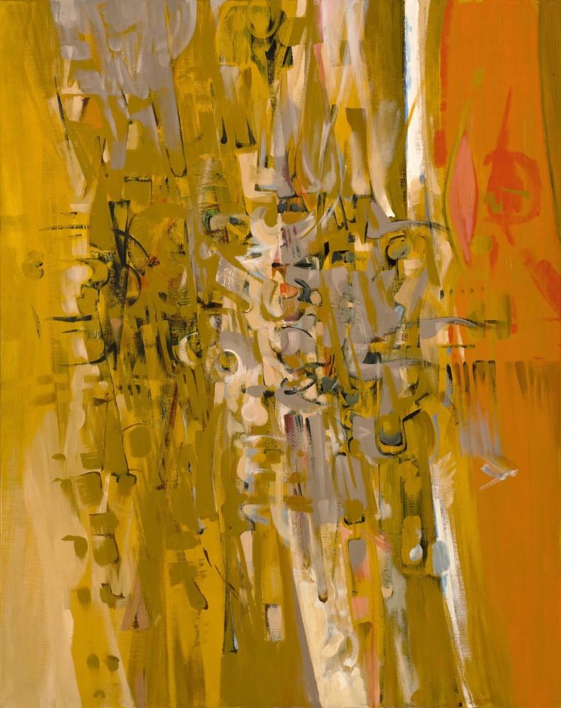 """<span class=""""artist""""><strong>Bryan Wynter</strong></span>, <span class=""""title""""><em>Sandspoor II</em>, 1961</span>"""