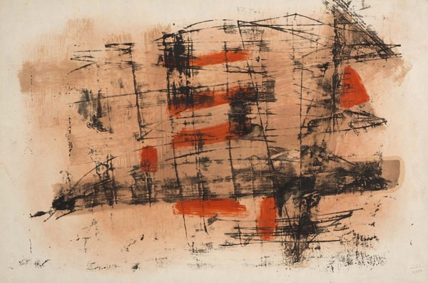 "<span class=""artist""><strong>John Wells</strong></span>, <span class=""title"">Untitled, 1960</span>"