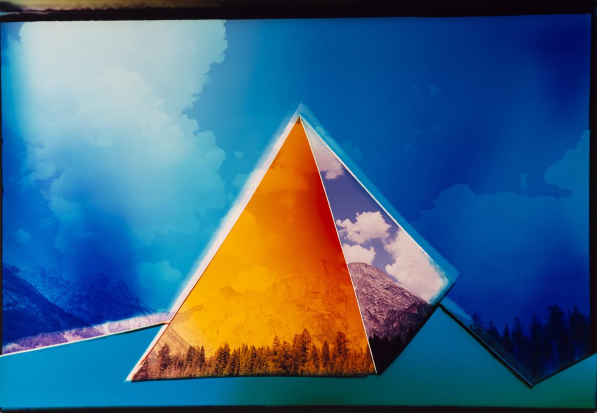 "<span class=""link fancybox-details-link""><a href=""/artists/26-liz-nielsen/works/274-liz-nielsen-pyramid-2019/"">View Detail Page</a></span><div class=""artist""><strong>Liz Nielsen</strong></div> <div class=""title""><em>Pyramid</em>, 2019</div> <div class=""medium"">Analogue Chromogenic Photogram on Fujiflex<br /> Unique</div> <div class=""dimensions"">50.5 x 75.1 cm<br /> 19 7/8 x 29 5/8 in<br /> Mounted to aluminium and framed in a handmade white box frame with UV Perspex glaze</div><div class=""copyright_line"">Copyright Liz NIelsen</div>"