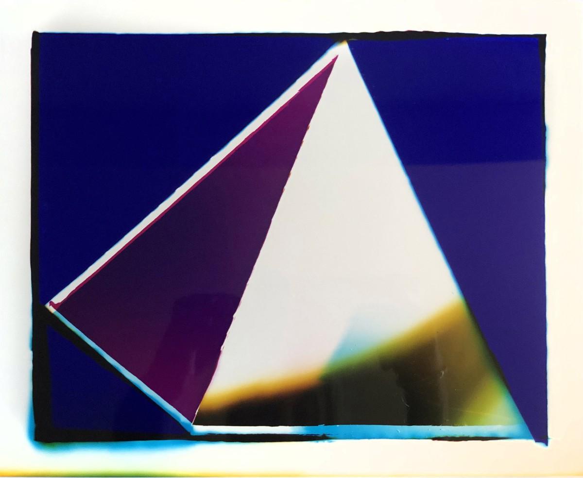 "<span class=""link fancybox-details-link""><a href=""/artists/26-liz-nielsen/works/363-liz-nielsen-listening-pyramid-2019/"">View Detail Page</a></span><div class=""artist""><strong>Liz Nielsen</strong></div> <div class=""title""><em>Listening Pyramid</em>, 2019</div> <div class=""signed_and_dated"">Signed, titled and dated on artist's label</div> <div class=""medium"">Analogue Chromogenic Photogram on Fujiflex<br /> Unique</div> <div class=""dimensions"">20.3 x 25.4 cm<br /> 8 x 10 in<br /> Print only</div><div class=""copyright_line"">Copyright The Artist</div>"