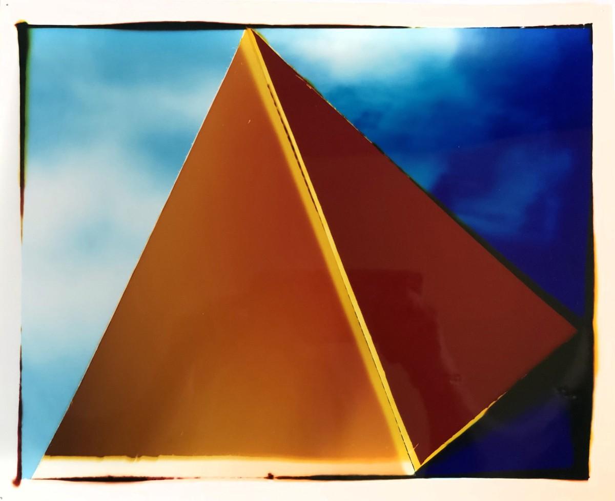 "<span class=""link fancybox-details-link""><a href=""/artists/26-liz-nielsen/works/362-liz-nielsen-floating-pyramid-2019/"">View Detail Page</a></span><div class=""artist""><strong>Liz Nielsen</strong></div> <div class=""title""><em>Floating Pyramid</em>, 2019</div> <div class=""medium"">Analogue Chromogenic Photogram on Fujiflex<br /> Unique</div> <div class=""dimensions"">20.3 x 25.4 cm<br /> 8 x 10 in<br /> Print only</div><div class=""copyright_line"">Copyright The Artist</div>"
