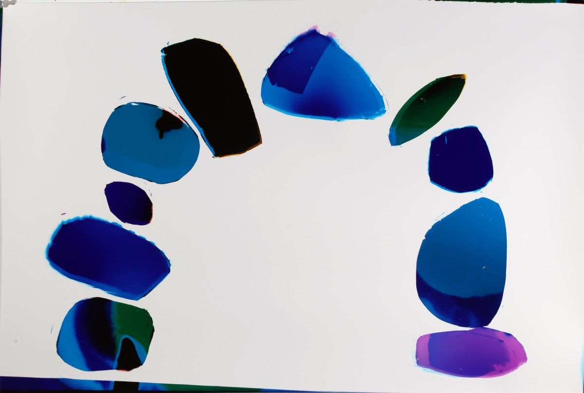 "<span class=""link fancybox-details-link""><a href=""/artists/26-liz-nielsen/works/127-liz-nielsen-water-stones-2018/"">View Detail Page</a></span><div class=""artist""><strong>Liz Nielsen</strong></div> <div class=""title""><em>Water Stones</em>, 2018</div> <div class=""medium"">Analogue Chromogenic Photogram on Fujiflex, Unique</div> <div class=""dimensions"">50 x 74.3 cm<br /> 19 3/4 x 29 1/4 in<br /> Print only</div><div class=""copyright_line"">Copyright Liz Nielsen</div>"