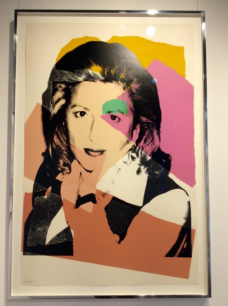 """<span class=""""link fancybox-details-link""""><a href=""""/artists/25-andy-warhol/works/891/"""">View Detail Page</a></span><div class=""""artist""""><strong>Andy Warhol</strong></div> <div class=""""title""""><em>Marcia Weisman *SOLD*</em>, 1975</div> <div class=""""signed_and_dated"""">Screen print on Arches Aquarelle paper, hand signed, numbered and dated on the reverse in pencil by Andy Warhol, initialed on the front lower left 'AW' also written by the artist</div> <div class=""""medium"""">Wonderful early Warhol, the first and earliest in style similar to the Mick Jagger but these are a fraction of the cost of a Mick Jagger.  This edition numbered only ten works and are great portraits created from photographs taken by Andy Warhol.<br /> Reference in the Catalogue Raisonné on page 88 as F&S II.122<br /> The work is in as-new condition, just recently framed in polished steel with UV acrylic. The colours are fresh and bright, no cracks, a really great work for the price!</div>"""