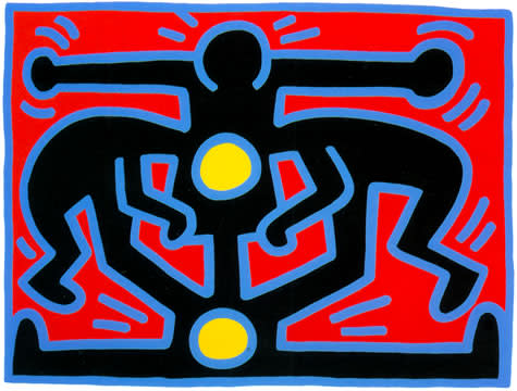 """<span class=""""link fancybox-details-link""""><a href=""""/artists/30-keith-haring/works/1053/"""">View Detail Page</a></span><div class=""""artist""""><strong>Keith Haring</strong></div> <div class=""""title""""><em>Growing Number 3</em>, 1988</div> <div class=""""signed_and_dated"""">Hand signed, numbered and dated in pencil by the artist, lower right margin </div> <div class=""""medium"""">Colour Screen print on Lenox Museum Board<br /> In perfect condition as you'd expect!</div> <div class=""""dimensions"""">76 x 101.5 cm<br /> 29 7/8 x 40 in</div> <div class=""""edition_details"""">Edition of 100 plus proofs and HC</div>"""