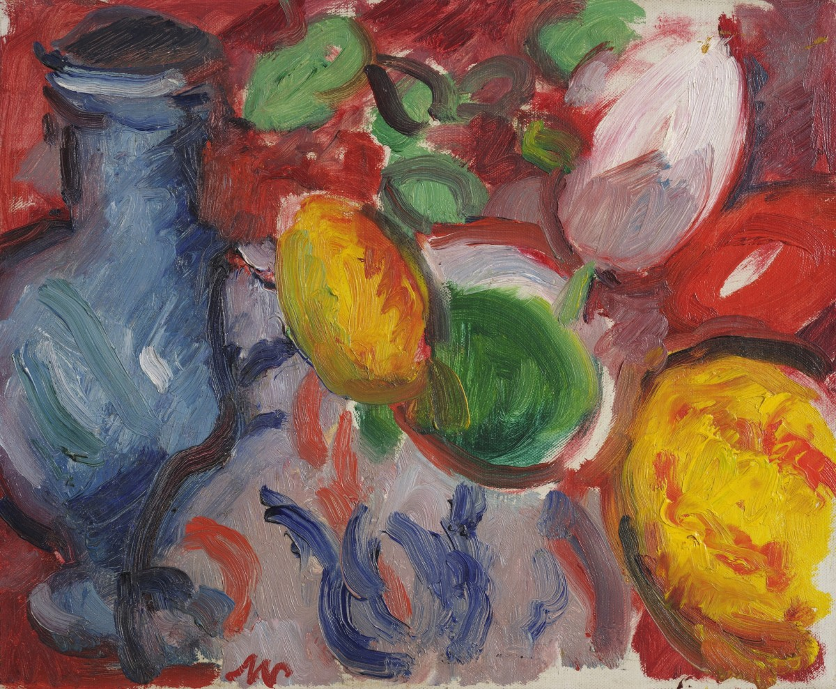 "<span class=""title"">Still Life of Fruit with Water Jug</span>"