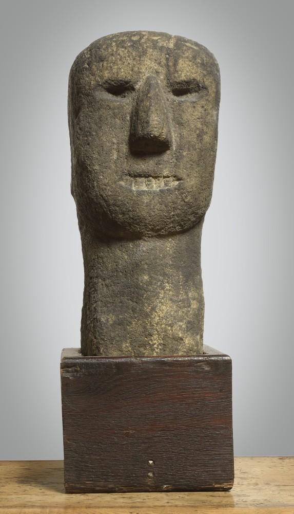"<span class=""title"">Celtic Stone Head<span class=""title_comma"">, </span></span><span class=""year"">circa 3rd Century BC</span>"