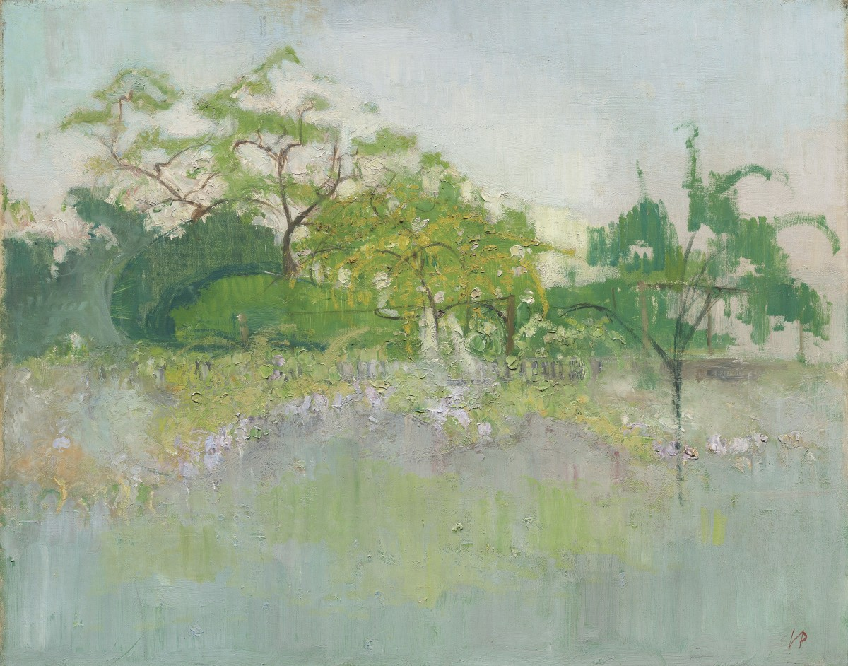 "<span class=""title"">View of Garden, Chiswick<span class=""title_comma"">, </span></span><span class=""year"">c1944.</span>"