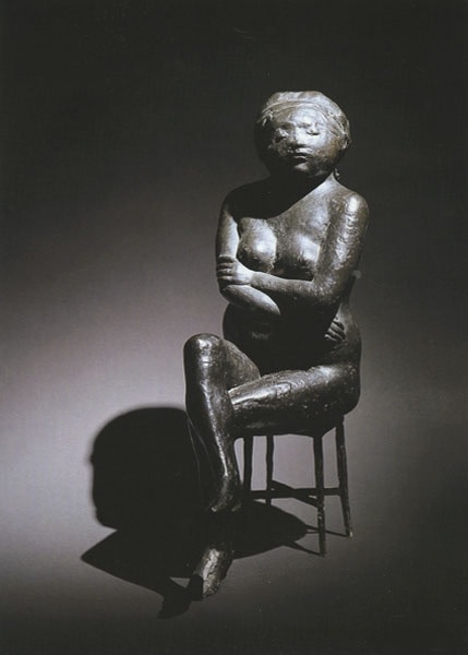 <span class=&#34;title&#34;>Woman on Stool<span class=&#34;title_comma&#34;>, </span></span><span class=&#34;year&#34;>1971</span>