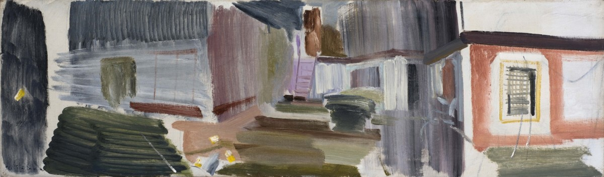 <span class=&#34;artist&#34;><strong>Ivon Hitchens</strong></span>, <span class=&#34;title&#34;><em>House Spaces</em>, 1954</span>