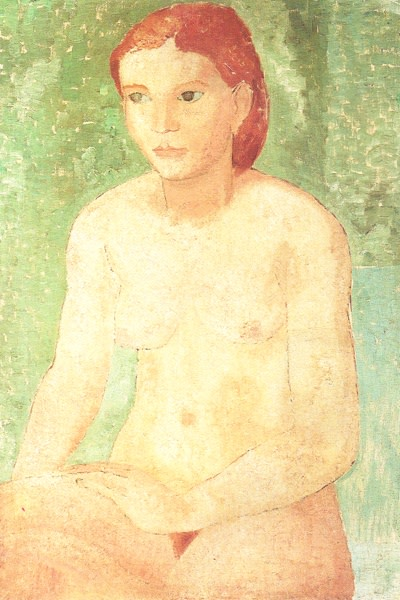 <span class=&#34;title&#34;>Seated Nude<span class=&#34;title_comma&#34;>, </span></span><span class=&#34;year&#34;>1928</span>