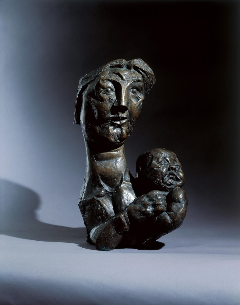 <span class=&#34;title&#34;>Mother & Child<span class=&#34;title_comma&#34;>, </span></span><span class=&#34;year&#34;>1956</span>
