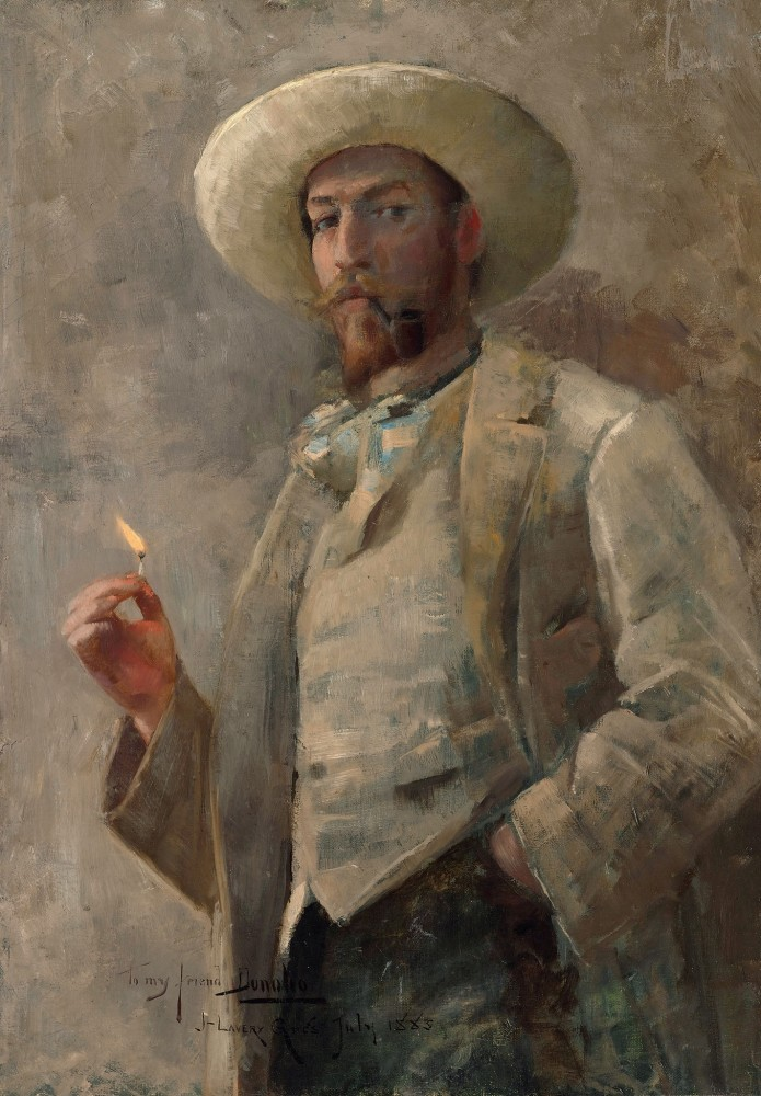 "<span class=""title"">Portrait of Gaines Donoho<span class=""title_comma"">, </span></span><span class=""year"">1883</span>"